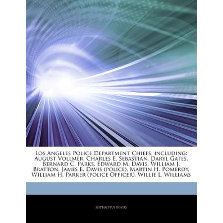 Articles on Los Angeles Police Department Chiefs, Including: August Vollmer, Charles E. Sebastian, Daryl... by