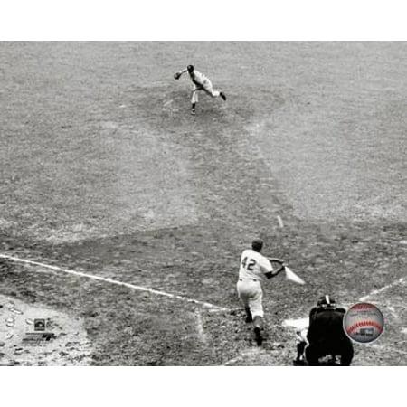 Bobby Shantz 1952 MLB All-Star Game Action Photo (Bobby Shantz Autographed Baseball)