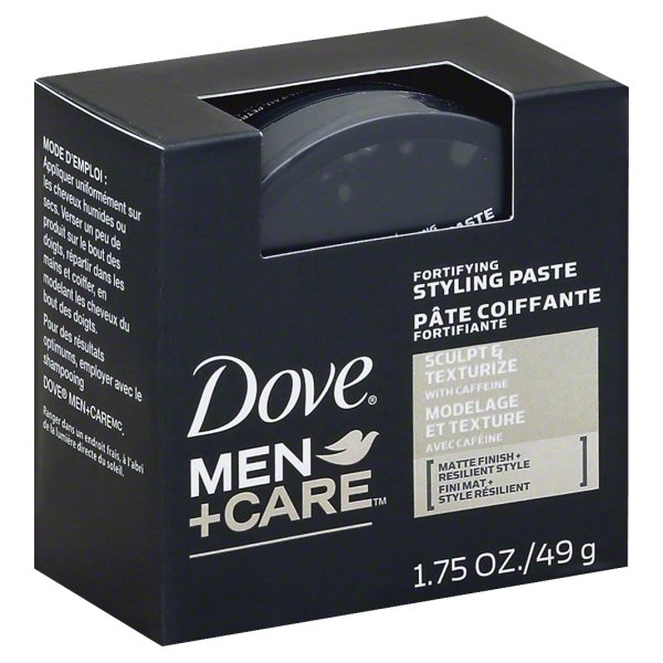Dove Men+Care Sculpting Paste Hair Styling 1.75 oz