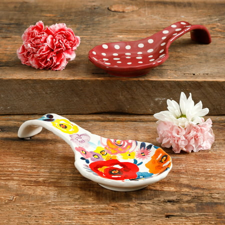Spoon Rest Trivet - The Pioneer Woman Fall Sale Assorted Spoon Rests, Set of 2