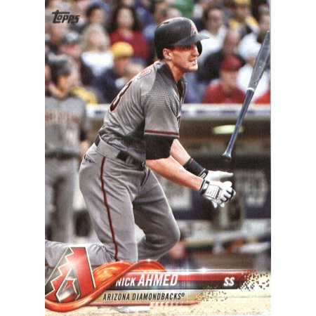 2018 Topps #337 Nick Ahmed Arizona Diamondbacks Baseball Card