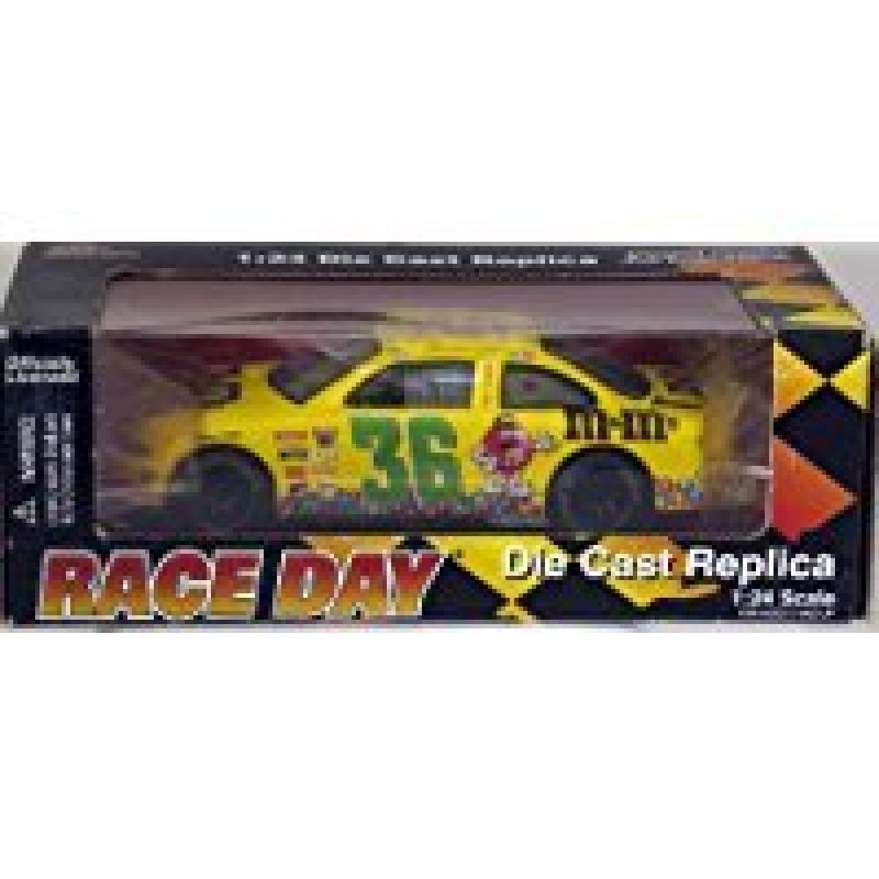 1998 Edition Race Day #36 Ernie Irvan Nascar Die Cast Replica 1:24 Scale by