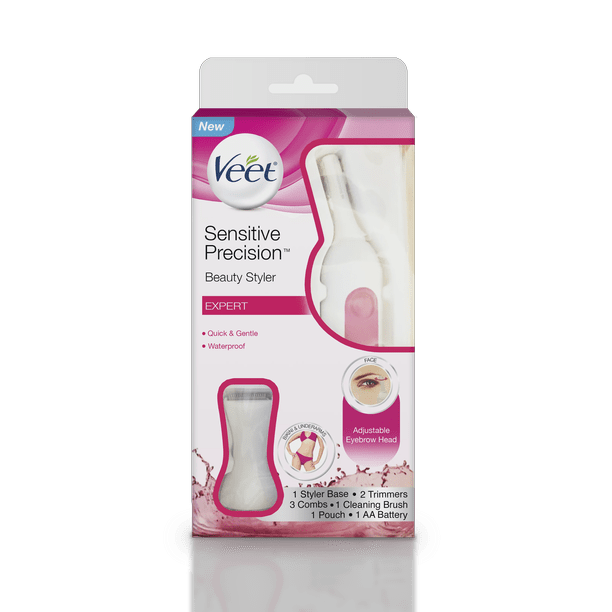 Hair Removal Electric Trimmer Veet Expert Sensitive Precision