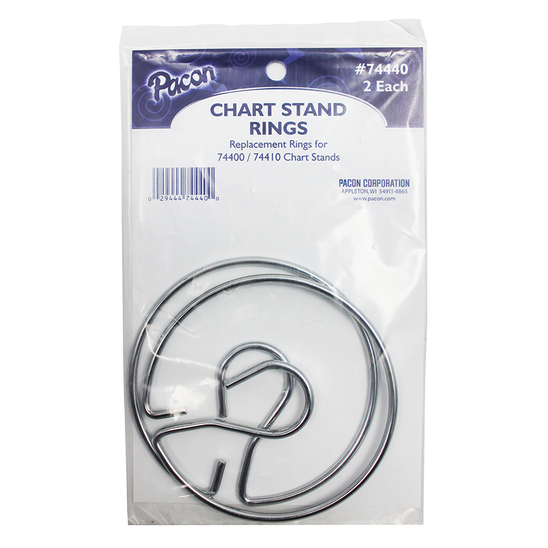(3 Ea) Chart Stand Rings 2 Per Pk by 000156