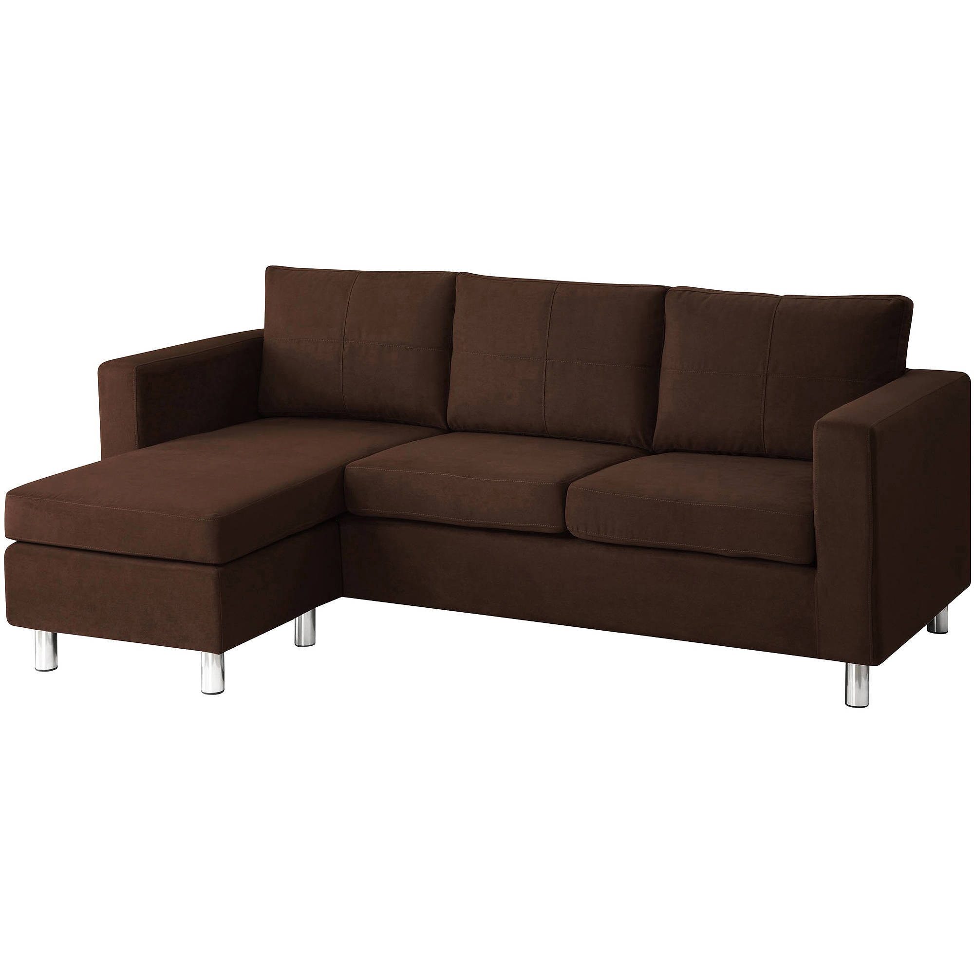 Dorel Home Small Spaces Configurable Sectional Sofa Multiple
