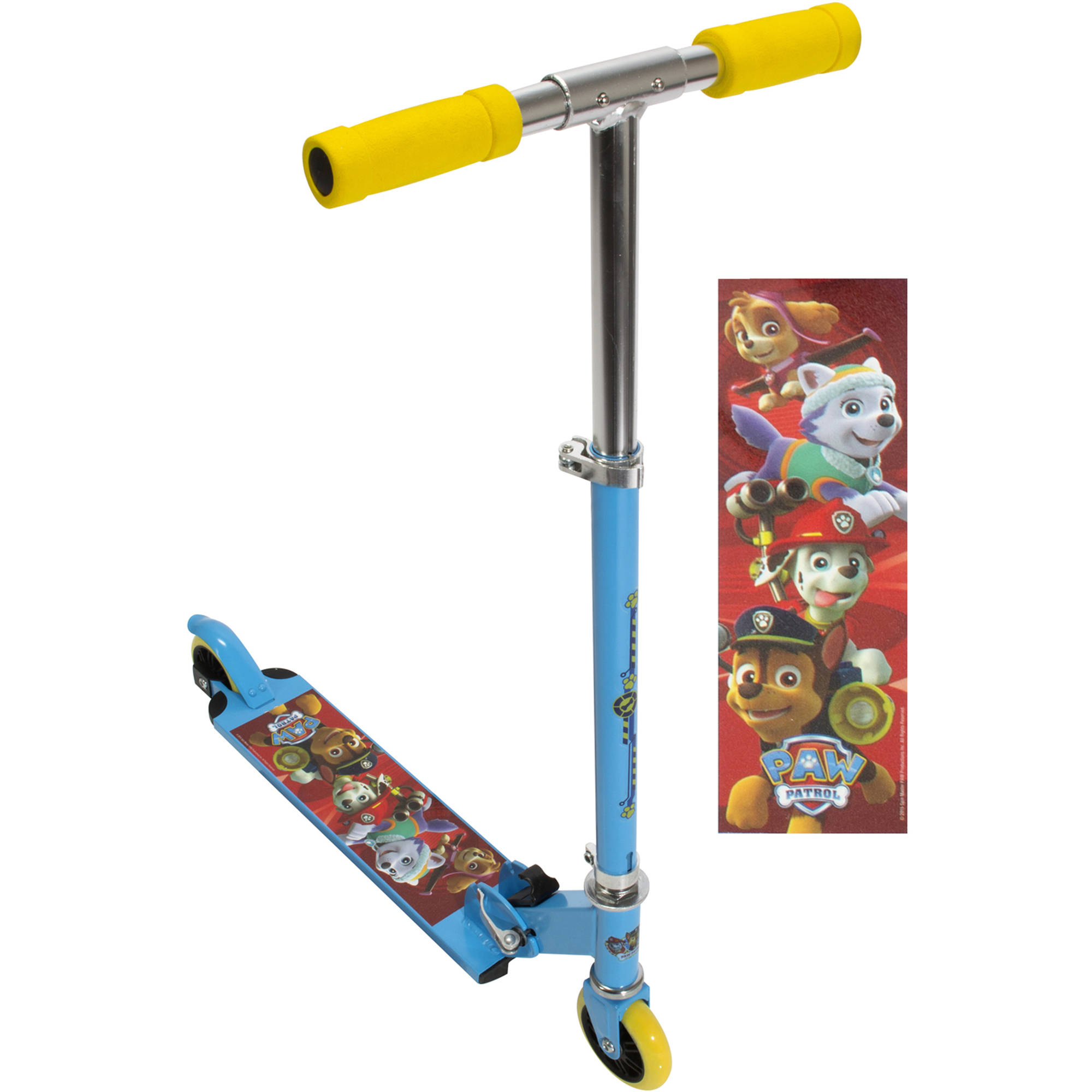 Paw Patrol 2-Wheel Folding Kick Scooter Only at Walmart by Bravo Sports