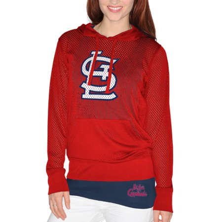 St. Louis Cardinals G-III Sports by Carl Banks Women's Kickoff Pullover Hoodie and Tank Top - Red - Louis Womens Sweatshirt