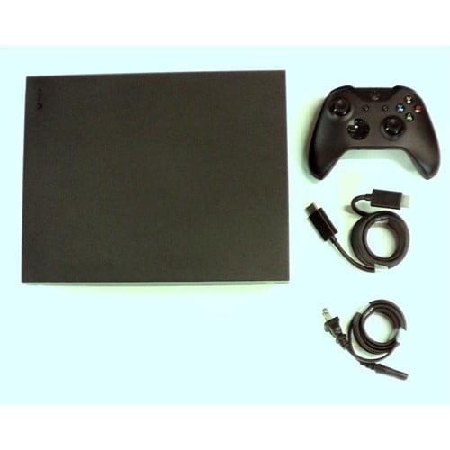 Refurbished Microsoft Xbox One X 1TB, 4K Ultra HD Gaming Console, Black (Certified Refurbished) by
