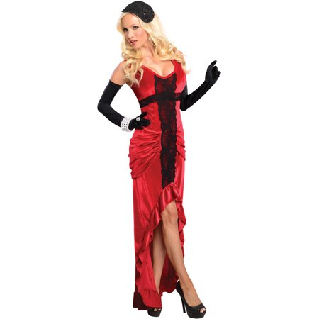 Womens Adult  20s 30s Jazz Club Singer Entertainer Costume