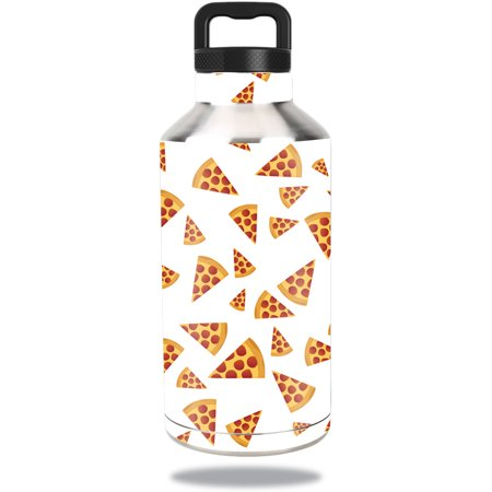 MightySkins Protective Vinyl Skin Decal for Ozark Trail Water Bottle 64 oz wrap cover sticker skins Body By Pizza