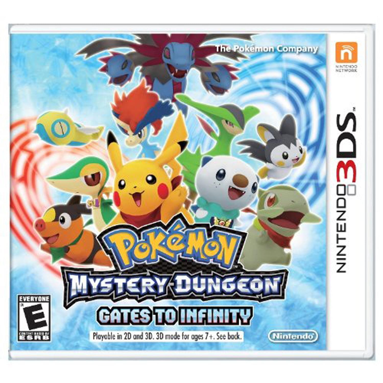 Pokemon Mystery Dungeon: Gates to Infinity, Nintendo, Nintendo 3DS, [Digital Download], 0004549668016