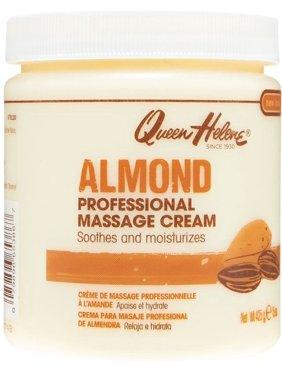 QUEEN HELENE Almond Scented Massage Cream 15 oz