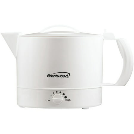 Brentwood Appliances KT-32W 32-Ounce Electric Kettle Hot (Rival 4071 Wn 32 Ounce Hot Pot Express)