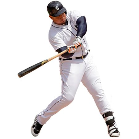 Miguel Cabrera Detroit Tigers Fathead Life Size Removable Wall Decal Detroit Tigers Family Decal