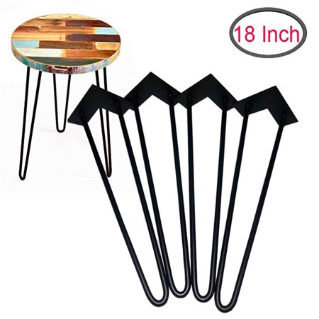 Superb 18 Hairpin Legs Set Of 4 Metal Legs Coffee Table Legs Desk Legs Furniture Legs Mid Century Modern By Homeland Hardware Cjindustries Chair Design For Home Cjindustriesco