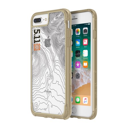 the best attitude 424ce 77798 5.11 Tactical Survivor Clear Case for iPhone 8 Plus & iPhone 7 Plus -  Coyote Tan