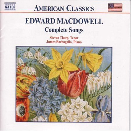 The First Complete Collection Of Edward Macdowells Songs  This Release Documents The Career Of One Of Americas Most Distinguished Composers  As Performed By Tenor Steven Tharp And Pianist James Barbagallo  These Songs Are Testament To Macdowells Uncanny Ability To Create Unforced  Beautiful Melodies Trained From An Early Age As A Pianist  Macdowell Studied At Stuttgart And Frankfurt  His Fame Grew Throughout Europe After He Gained The Admiration Of An Aging Liszt  Who Lauded His Piano Technique  The Next Year  Macdowell Composed The First Of The 42 Songs Included In This Collection Equally Capable In Arranging For Both English And German Texts  He Was Very Comfortable Choosing Poems For Music  Although Most Of His Compositions Were Written For Words Penned By Another Author  His Op  56 Songs Include Texts Written By Macdowell Himself The Maturation Of Macdowells Compositions Is Evident Over Time  The Beauty And Simplicity Of His Last Works Is A Natural Progression From The Earlier Pieces  This Retrospective Subtly Presents The Development Of Macdowells Underlying Artistic Themes Without The Lesson Distracting From The Beauty Of The Music