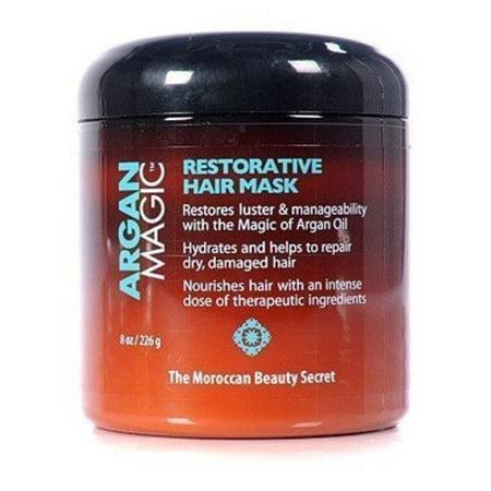 Argan Magic Restorative Hair Mask 8oz