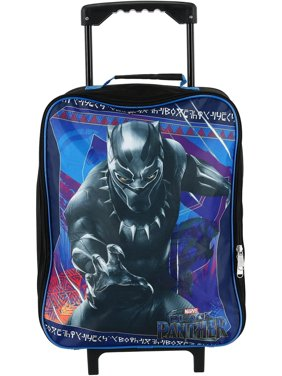 Marvel Kids' Black Panther Rolling Carry-on Luggage