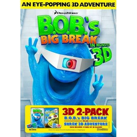 B.O.B's Big Break / Shrek 3D (DVD) ()