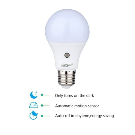 E27 LED Auto Light Sensor Bulb Energy Saver Dusk to Dawn Lamp Indoor/Outdoor 9W Warm Colour/ Natural Colour/ Cool Colour