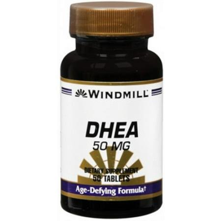 Windmill DHEA 50 mg comprimés 50 comprimés (Paquet de 2)