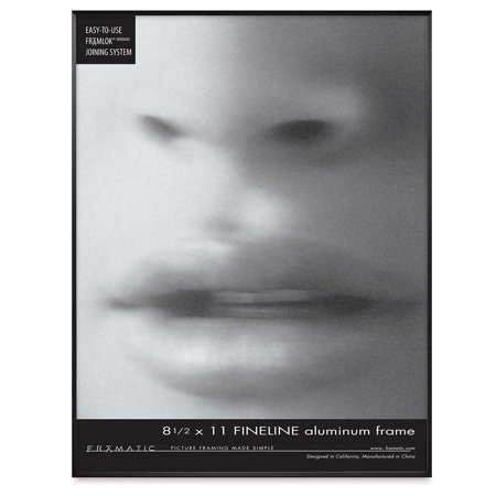 Mcs Framatic Frame White 16 X 20 W 11 X 14 Opening Shadow Mat Walmart Com Walmart Com