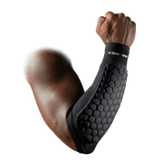McDavid Hex Padded Forearm Compression Sleeve for Football & Contact Sports, Moisture Wicking to Keep You Dry & Cool