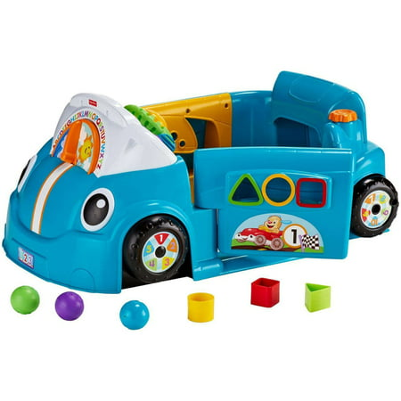 Fisher-Price Laugh & Learn Crawl Around Car - Blue