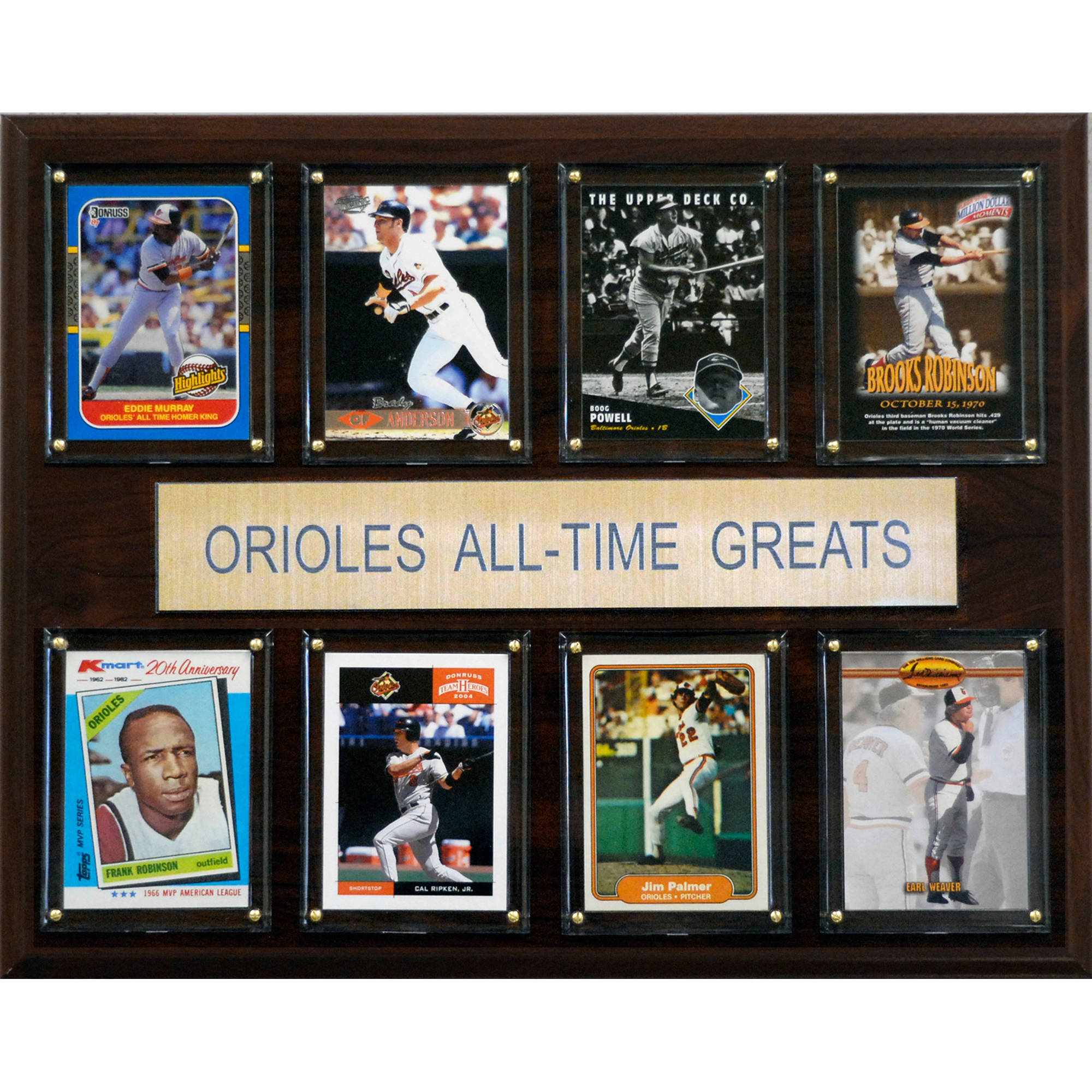 C&I Collectables MLB 12x15 Baltimore Orioles All-Time Greats Plaque