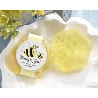 Kate Aspen Mommy to Bee Honey-Scented Honeycomb Soap, Perfect Wedding Favor, Bachelorette Favor or Bridal Shower Favor - 12 Units