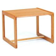 Corner Table w Sled Base - Classic (Medium)