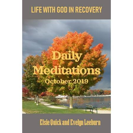 DAILY MEDITATIONS - October 2019 - eBook (Best Vines Of October 2019)