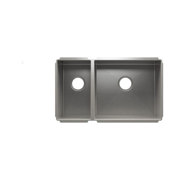 Beau Julien 003982 J7® Collection Undermount Sink With Double Bow