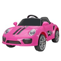 TOBBI Pink 6V Kids Ride On Car W/MP3 Electric Battery Power Remote Control