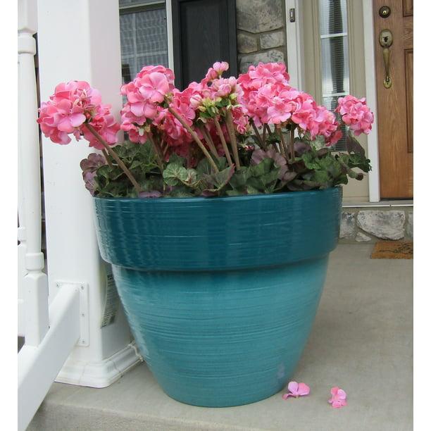 Decorative Outdoor Resin Planter
