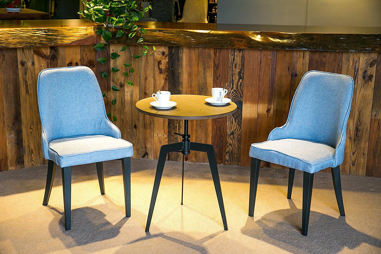 Harper&Bright Designs Curved Backrest Dining Armchair, Set of 2 (Beige) by Harper&Bright Design