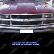 94-99 Chevy Blazer/C/K Pickup/Suburban/Tahoe Black Billet Grille Grill Insert