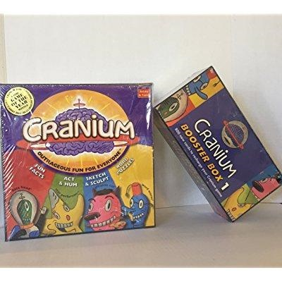 Cranium Board Game & 800 Cards Booster Box 1 by Cranium ( 2 Items) by