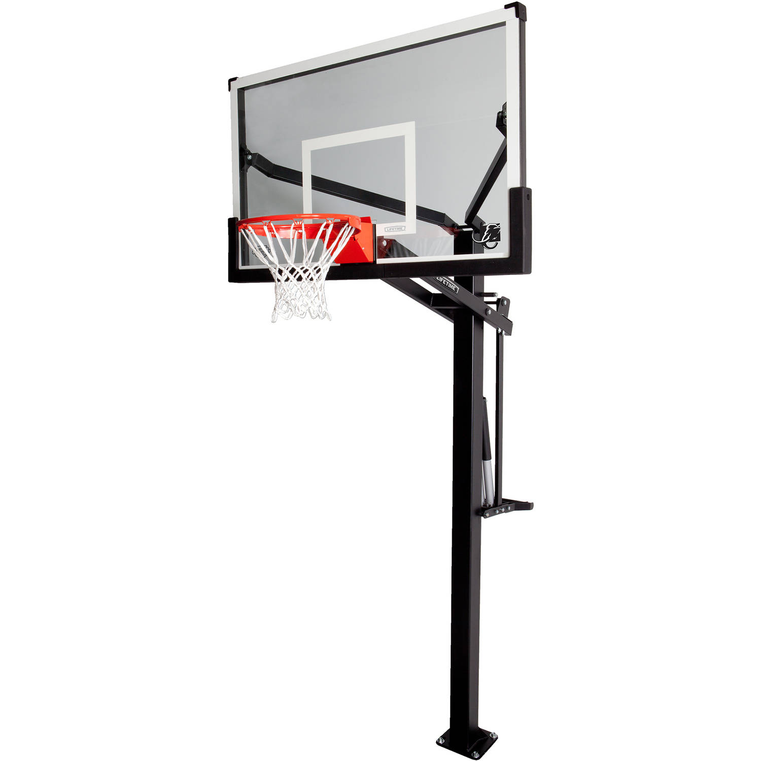 LIFETIME PRODUCTS INC Lifetime 54 Mammoth Tempered Glass In - Ground Infinite Adjustable Basketball System, 90179
