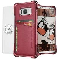Ghostek Ghocas645 Exec Series Wallet Case For Samsung Galaxy S 8 (red)