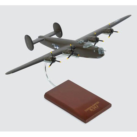 Daron Worldwide Consolidated B-24J Liberator Model Airplane - Olive