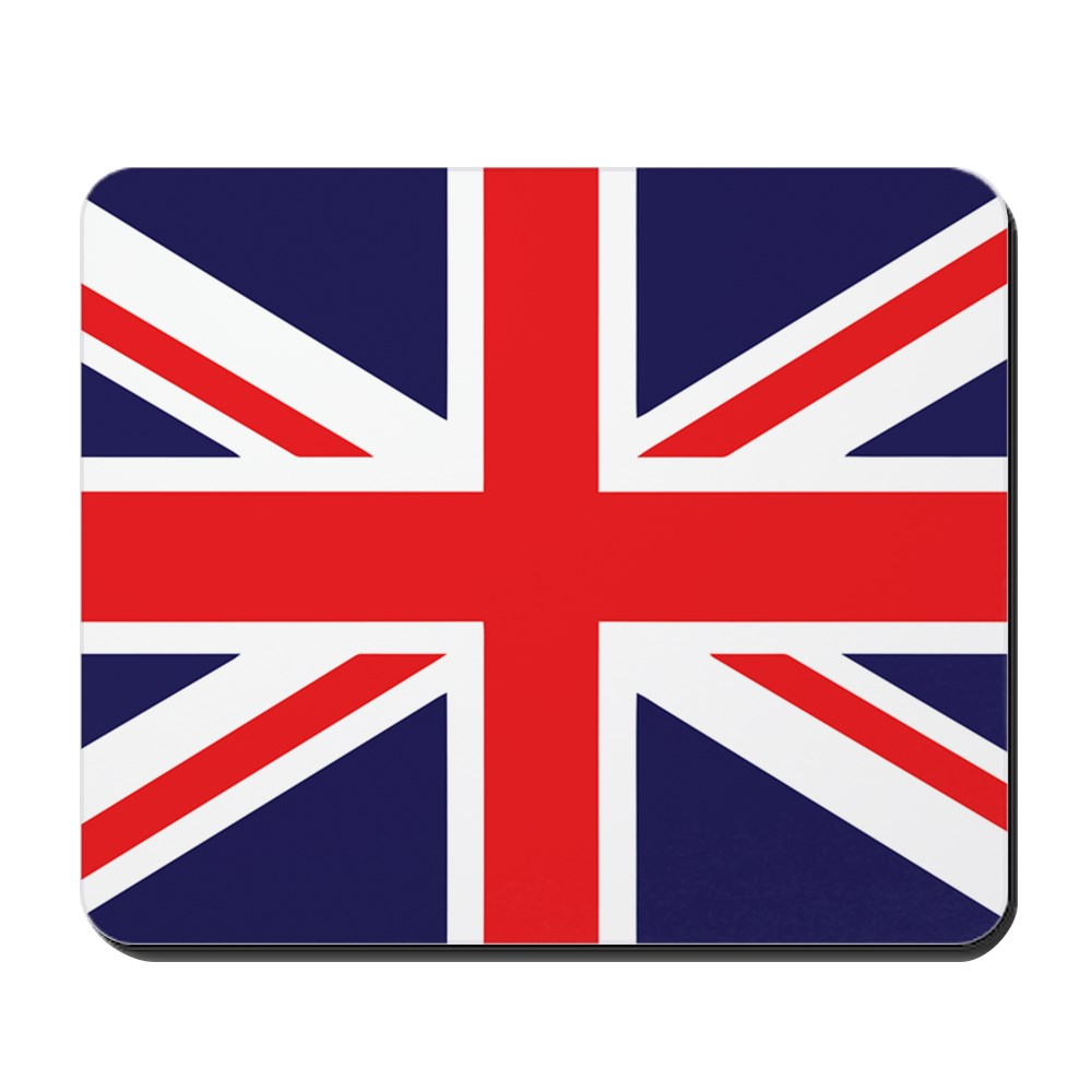 CafePress - Union Jack - Non-slip Rubber Mousepad, Gaming Mouse Pad