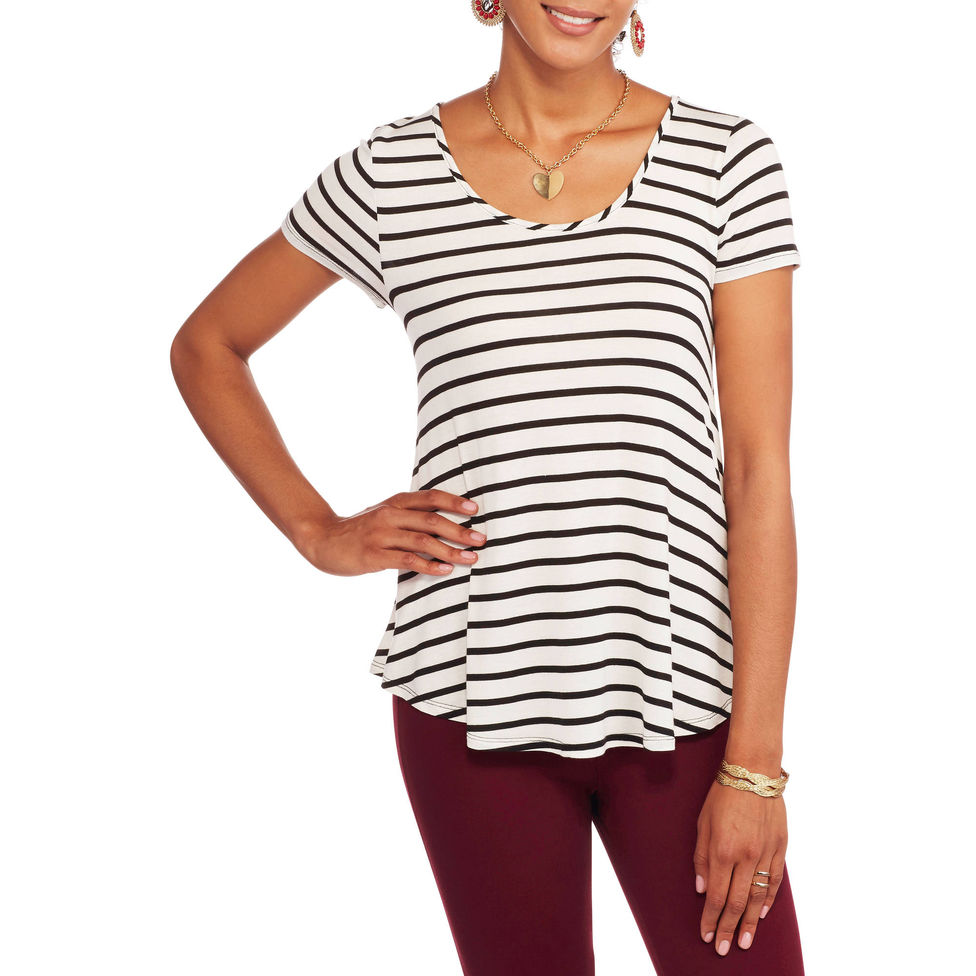 Women's Relaxed Fit Crewneck T-Shirt