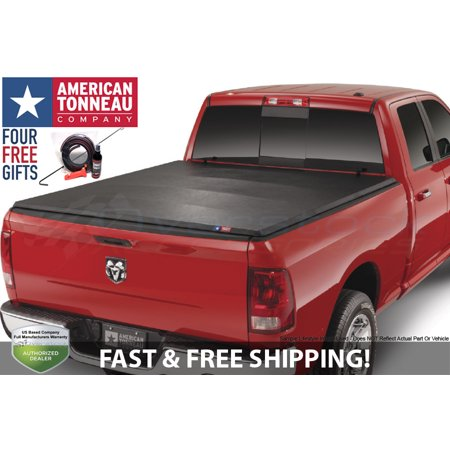 200e4eca7af American Tonneau Soft Tri-Fold Vinyl Truck Cover 2016-2018 Toyota Tacoma  5ft Bed