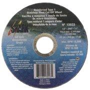 """Shark Cut-Off Wheel, Type 1 Ss, 4.5"""" x 0.045 x 7/8"""", 10-Pack, 60 Grit"""