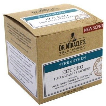 Dr. Miracle's Strengthen Hot Hair & Scalp Treatment, 4 oz (Pack of (Two Infections Of The Hair And Scalp)