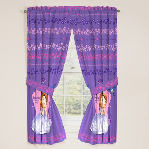 Sofia the First Drapes, Set of 2