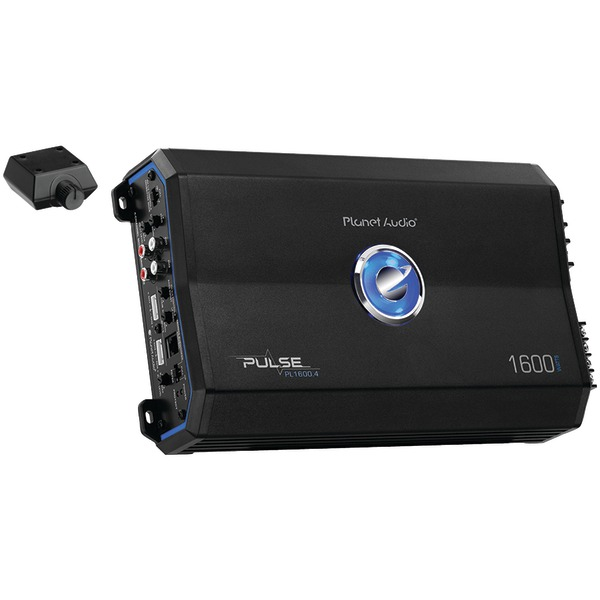 Brand New PLANET AUDIO PL1600.4 Pulse Series 4-Channel MOSFET Class AB Amp (1,600 Watts)