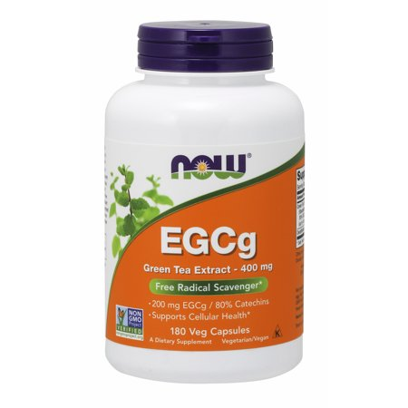 NOW Supplements, EGCg Green Tea Extract 400 mg, 180 Veg (Citrimax Plus 180 Capsules)